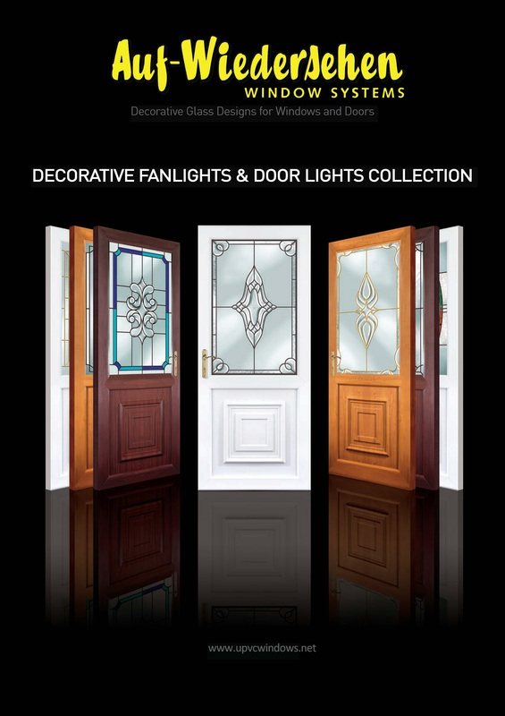 decorative fanlights and doorlights brochure